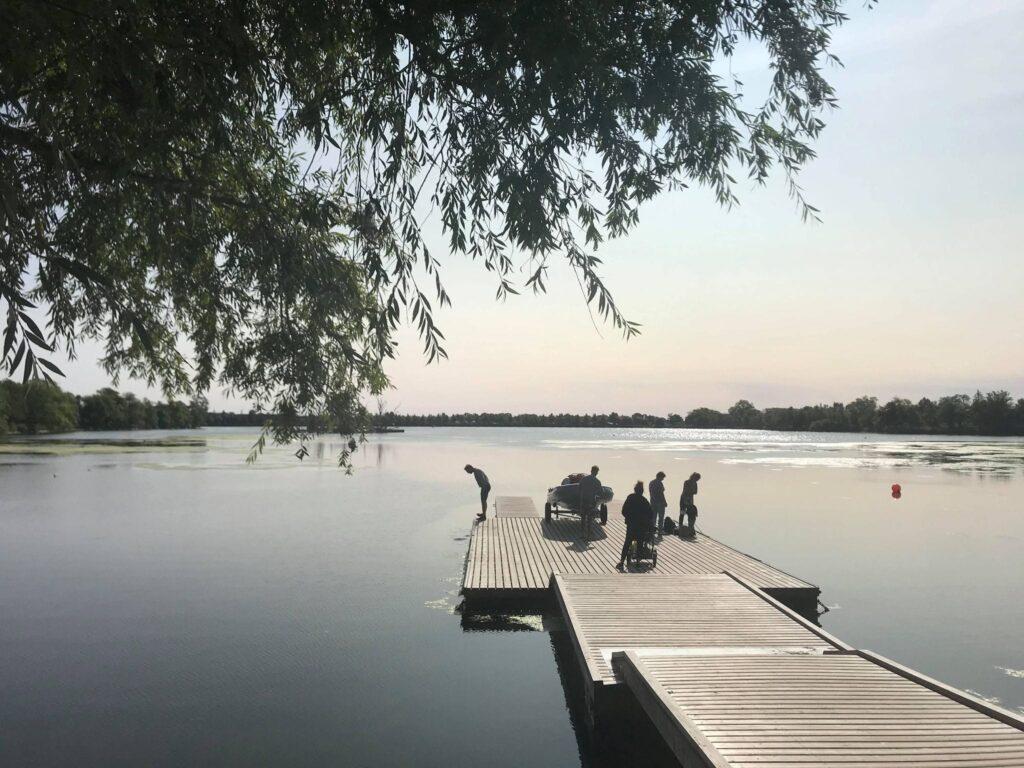 Damhussøen, bro